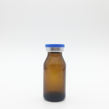 8ml Amber Sterile Evacuated Vials