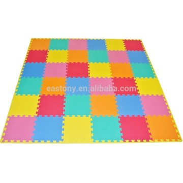 Foam Solid Kid's Puzzle Solid Play Floor Mat