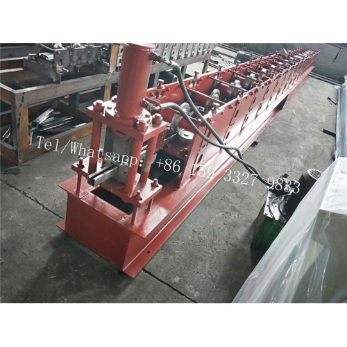 Steel U Guide Rail Shutter Door Forming Machine