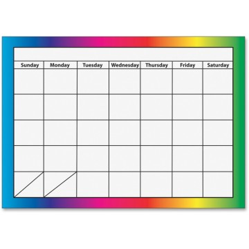 Custom Advertising magnetic refrigerator calendar