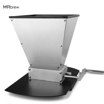 Stainless 2-roller Barley Malt Mill Grain Grinder Crusher With Stainless Base For Homebrew Wholesale & Dropshipping Beer Tools
