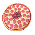 pizza custom logo promotional microfiber beach towels