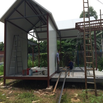 flexible prefab home villa mobile light steel villa