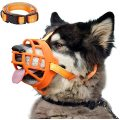 Dog Muzzle Soft Silicone Basket Muzzle for Dogs