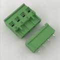 7.62mm pitch PCB plug-in terminal block connector