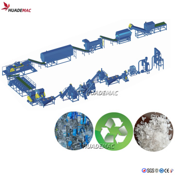 PET Waste Bottle recycling plant