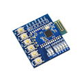 JDY-24M Bluetooth 5.0 MESH Zigbee Module BLE JDY-24 Master Slave Through the Base Plate With Buttons