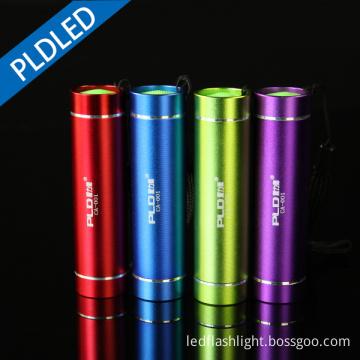Led Mini Flash Light Pocket Small Multi Color