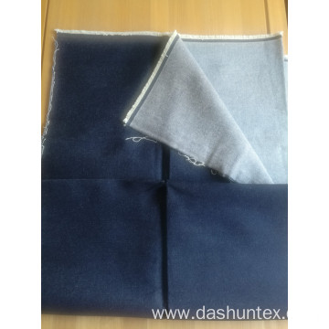 100% cotton indigo denim