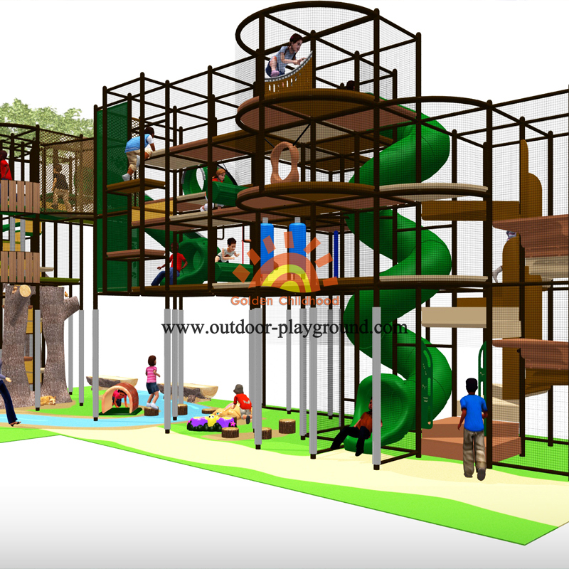 Tree Themes Playground For Kids