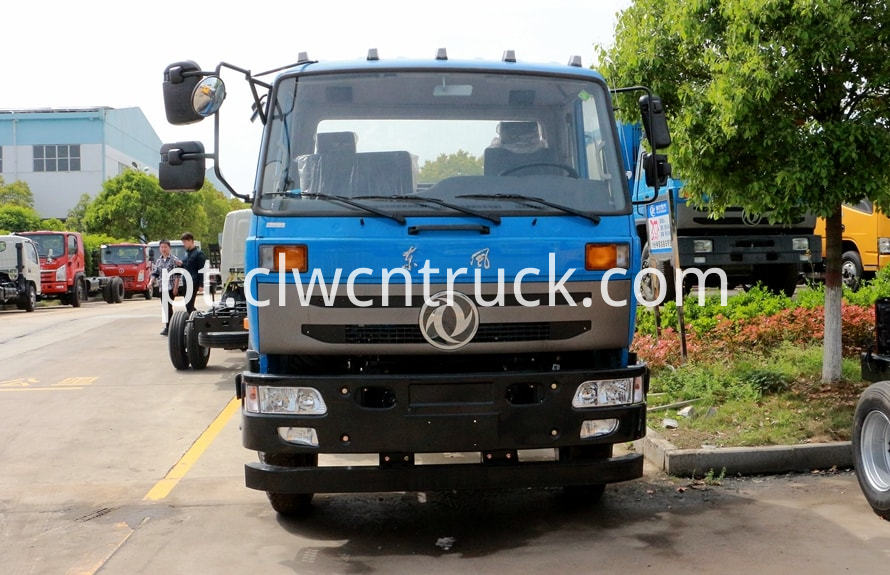 dongfeng water wagon chassis pictures 3