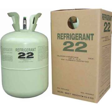 Hcfc High Purity 99.8% R22 Refrigerant Gas Freon for Cooling Systems