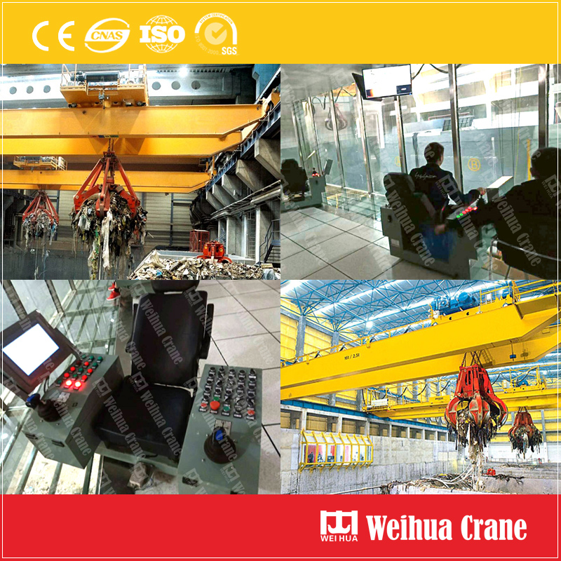 Waste Incineration Crane