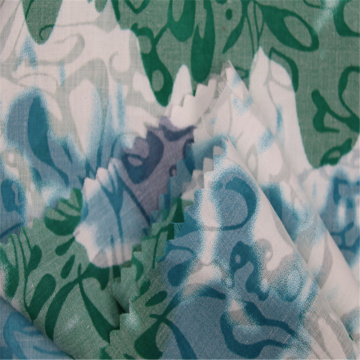 Light And Transparent CVC Blended Printing Fabric