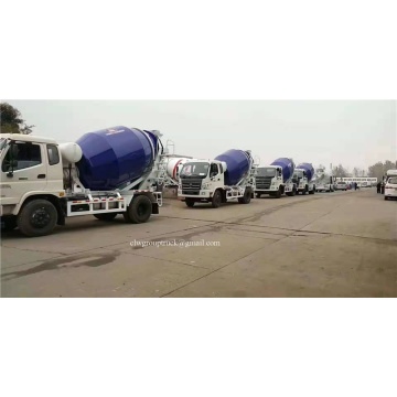 Hydraulic pump 6m3 cement mixer truck
