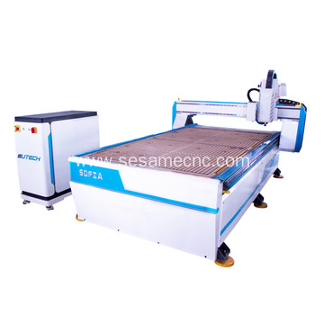 1325 CCD camera wood cnc router for advertising