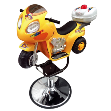 Salon Child Chair With Motorcycle Shape