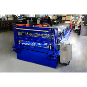 18-76-838 corrugated panel sheet forming machine