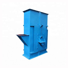 Industrial belt bucket elevator conveyor