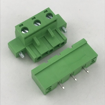 7.62mm pitch pluggable with flange terminal block