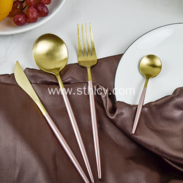 Portuguese Style Stainless Steel Flatware Set