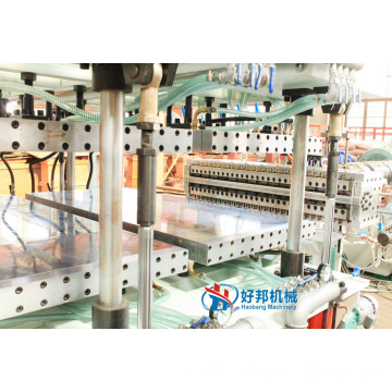 Triple-layer Multi-wall Greenhouse PC Hollow Sheet Machines