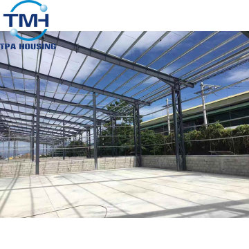 two/double story/storey steel structure warehouse