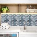 Vinyl Self Adhesive Peel and Stick Kitchen Backsplash