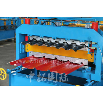 Color Steel Trapezoidal Tile Double Layer Forming Machine