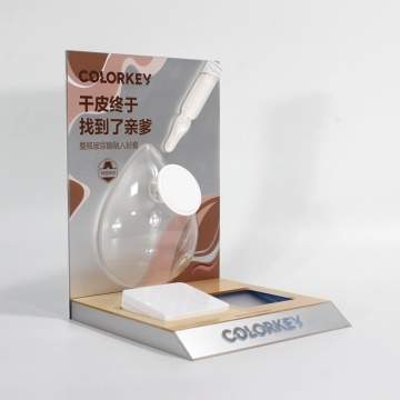 Promotion Acrylic Cosmetic Display For BB Cream