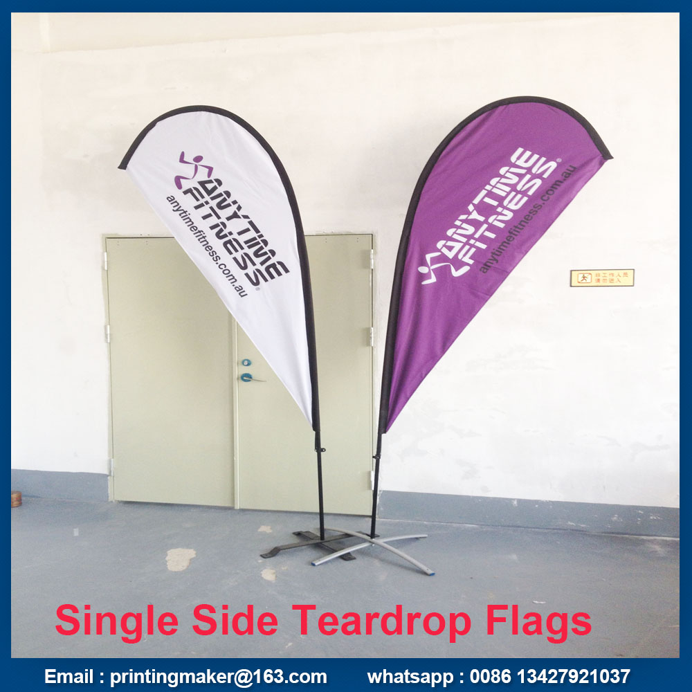 tear drop flag