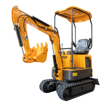 XN12 small digger  360 degree rotation mini excavator