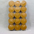 Yellow tea light candles bulk tealight candles