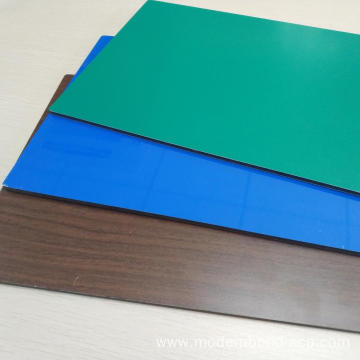 Wood Grain Cladding Aluminum Composite Panels