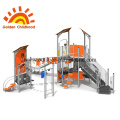 Orange Mix Playground Combination For Children