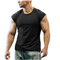 Muscle Cut Bodybuilding Training Fitness Tee