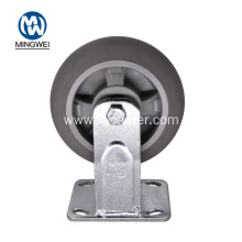 6 Inch TPR Wheel Rigid Caster Wheels