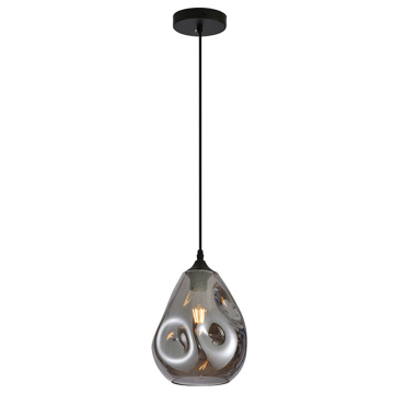 Glass cover modern pendant lamp