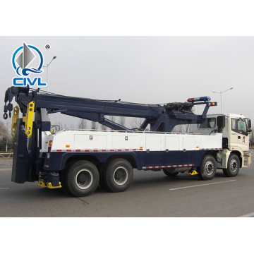 50 Ton Heavy Road 6x4 Wrecker Towing Truck