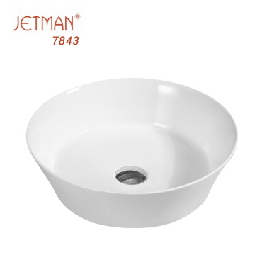 Luxury bathroom art basin  Ceramic shampoo basin