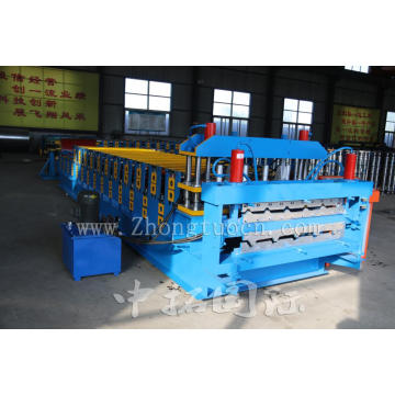 Double Layer Colored Steel Roof Tile Making Machine