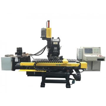 Cnc Plate Punching Drlling & Marking Machine