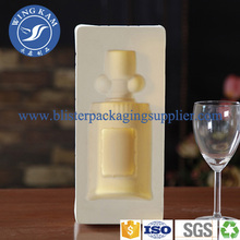 Plastic Flocked Wine Blister Factory Trays Packing