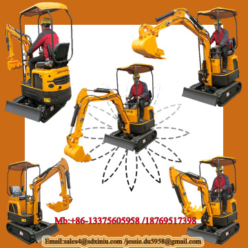 Rhinoceros direct 1 ton mini excavator specs