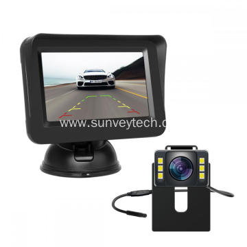 Front Rear View Backup Camera Kit