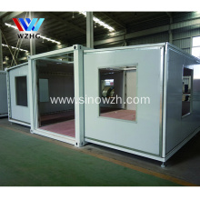 Prefab 2 bedroom expandable container house portab cabin