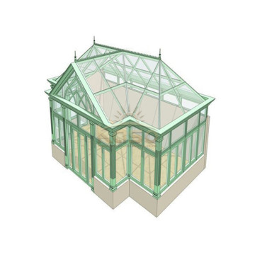 Polycarbonate Winter Garden Sunroom Wholesale Glass House