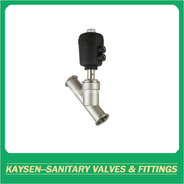 3A Sanitary clamped angle seat valves