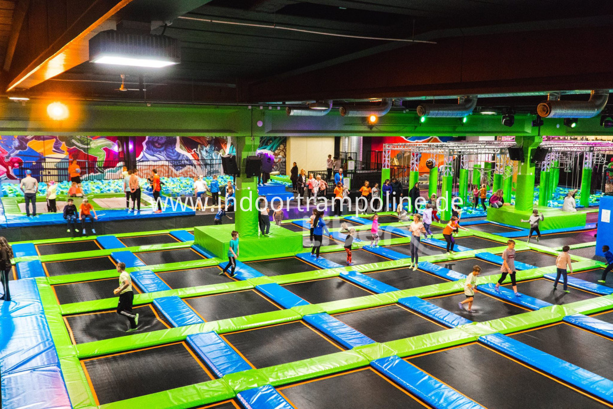 Norway trampoline park indoor