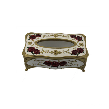 European style tissue box